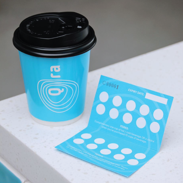 Get Rewarded for Every Beverage Purchased