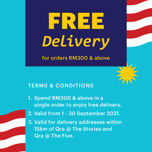 Free Delivery Terms & Conditions