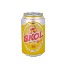 Skol Beer Can
