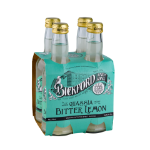 Bickford Mixers Bitter Lemon 4x275ml