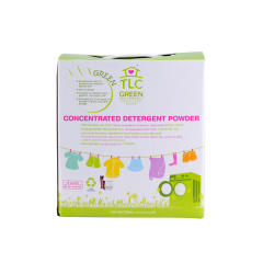 TLC Green Concentrated Detergent Powder