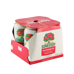 Somersby Watermelon Can - 4s