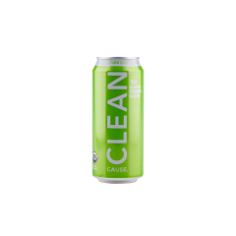 Clean Cause Lemon Lime Organic Sparkling Yerba Mate