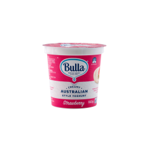 Bulla Aus Style Yoghurt Strawberry