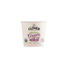 Clover Org Cream On Top Forestberry