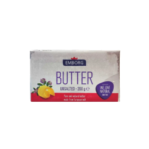 Emborg Unsalted Butter 200g