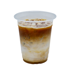 Ice Latte Coffee with Oat Milk